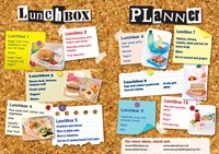 Healthy lunchbox planner