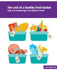 food baskets on report cover