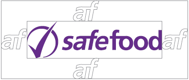 safefood logo with clear zone