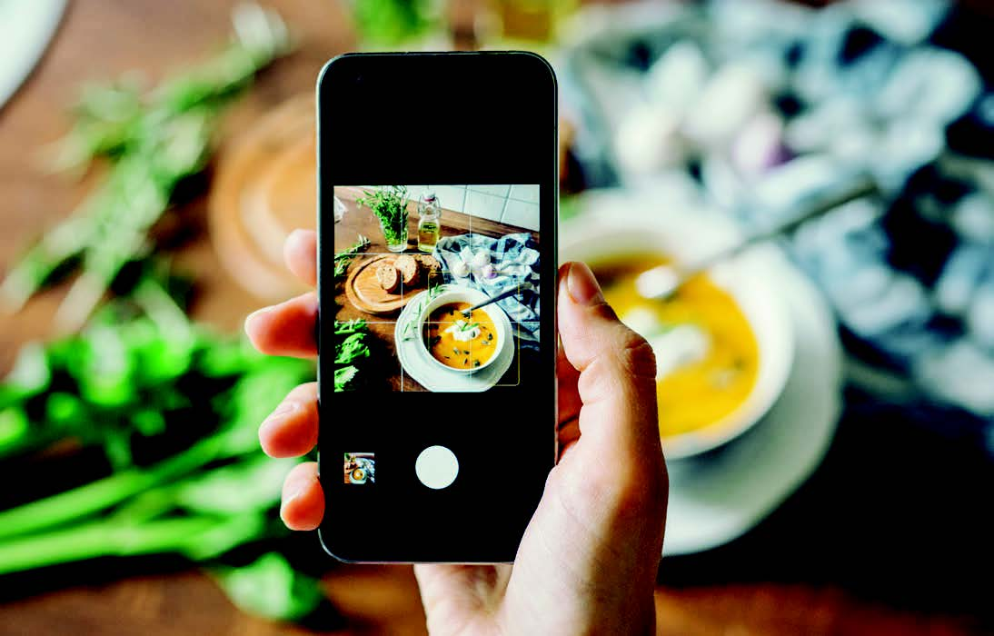 Smartphones as a food safety tool