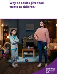 report cover - mum and boy in sitting room