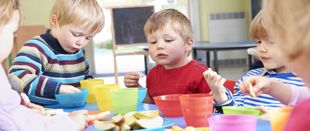 Food marketing to preschool children