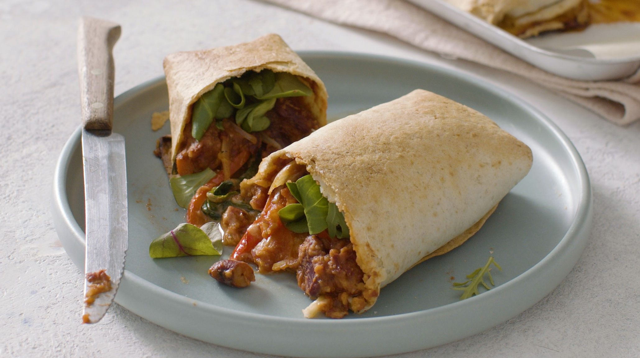 Mexican Bean Burrito Recipe Safefood