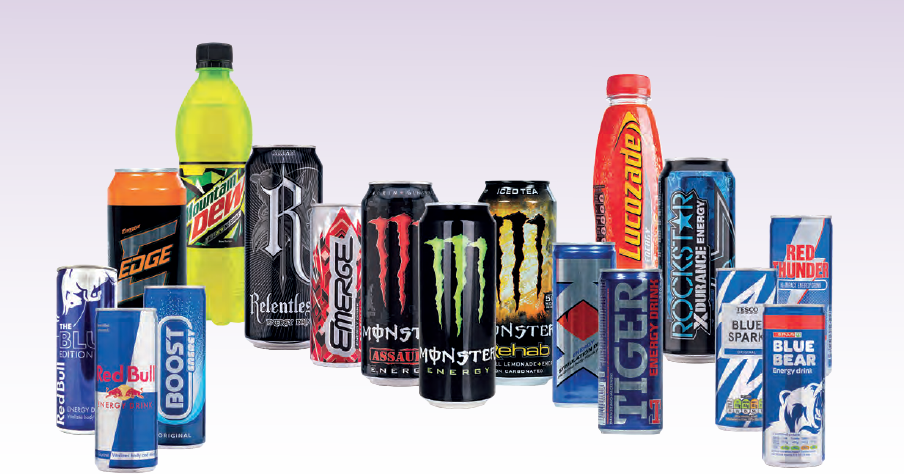 New survey indicates reduction in sugar content in energy drinks in response to sugar tax but increase in proportion sold in bigger size