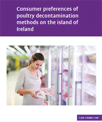 poultry report cover - woman holding chicken